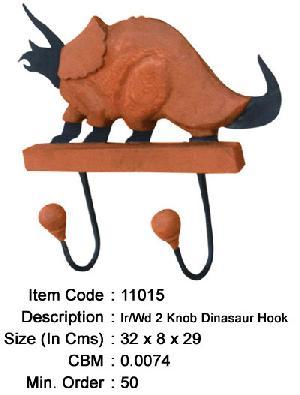 wrought iron animal desgin decorative hooks manufacturer exporter wholesaler india