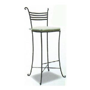 wrought iron bar stool cushion manufacturer exporter wholesaler india