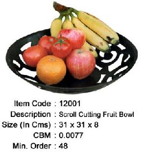 Wrought Iron Fruit Bowl Manufacturer, Exporter And Wholesaler India