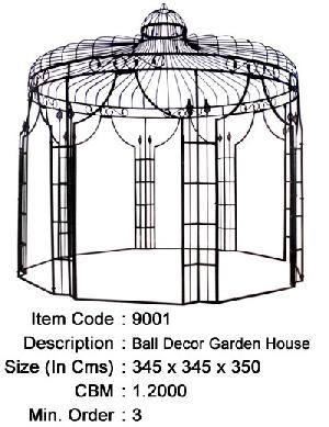 wrought iron gazebo manufacturer exporter wholesaler india