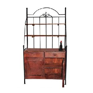 wrought iron rack kitchen furniture manufacturer exporter wholesaler india
