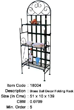 wrought iron shelves manufacturer exporter wholesaler india