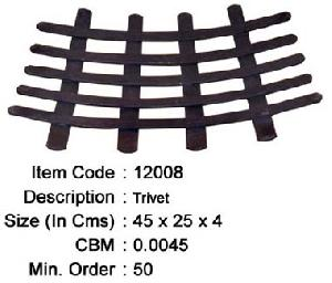 wrought iron trivet manufacturer exporter wholesaler india