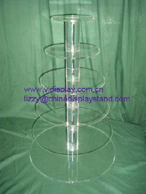 6 tier round cupcake stand