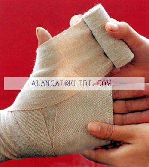 adhesive gauze bandage