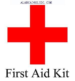 agencies frist aid kit wound dressing bandage