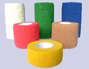 non woven adhesive elastic bandage latex