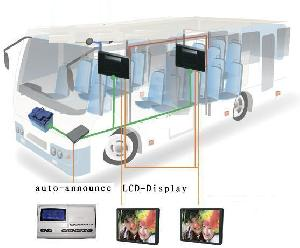 gps bus auto announce solution