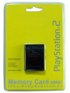 ps2 8m memory card usa ver