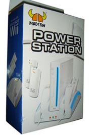 wii console charger stand