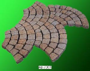 paving stone curbstone mesh mount