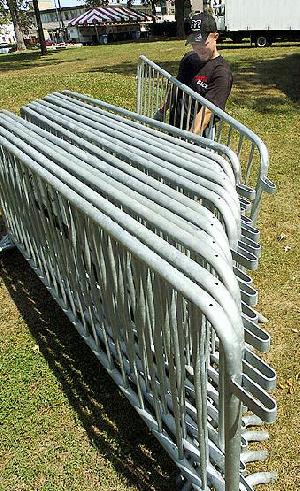 galvanized portable fence panel