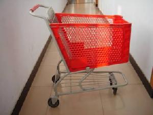 shopping trolleys basket