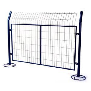 powder coated mesh fence garden gulf pool