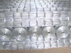 galvanized welded mesh roll fencing
