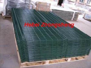 green powder coated weld mesh panels garden fence gulf