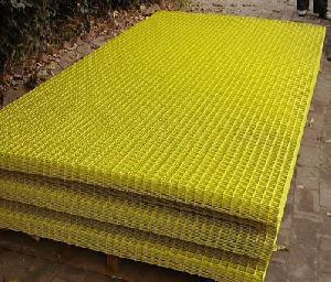 pvc coated welded mesh fencing construction
