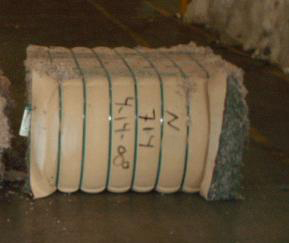 shredded post consumer carpet pa nylon 66 bales