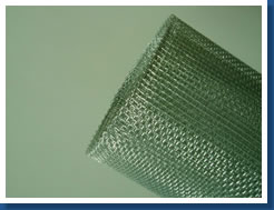 galvanized square mesh iron wire