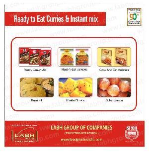eat instant mix labh