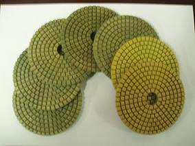 5 dry concrete polishing pads