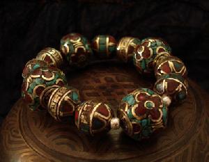 tibetan handmade beads bracelet