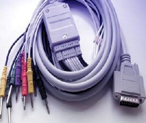 nihon konden ekg cable db15pin 9620 9010 9130 9132