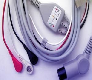 3 snap leadwires ronseda electronics ecg cable