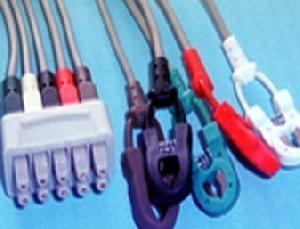 siemens 5 clip leadwires sc6000 sc6002xl sc7000 sc9000
