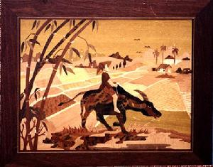 marquetry art