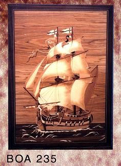 marquetry art picture