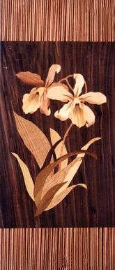 wall hanging decoration marquetry
