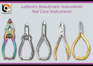 manicure pedicure nail care instruments