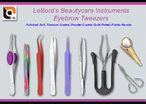 manicure pedicure skincare eyebrow plucking tweezers
