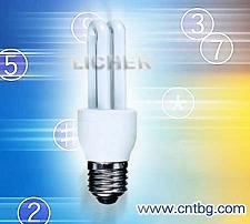 2u energy saving lamp light bulb u cfl esl wall