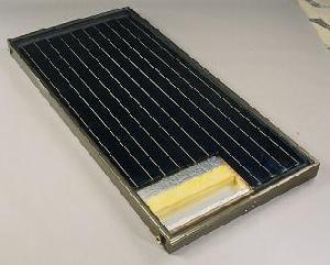 water heating system copper aluminium panels