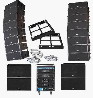 line array loudspeaker system