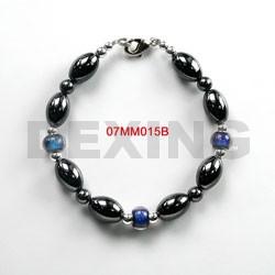 magnetic bracelet wrap hematite
