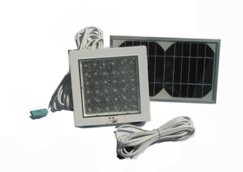 la luz interior de energía solar iluminación en el hogar con lamp led