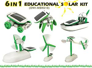 6 1 educational solar kit