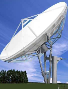 antesky 3 7 m earth station antenna