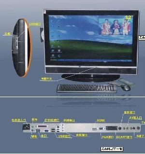 pc tv computer