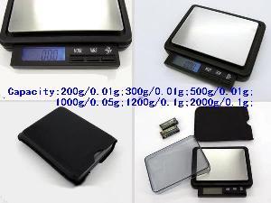 drawer precision balance pocket scale g c dwt oz ozt gn 200g 2000g 0 01g