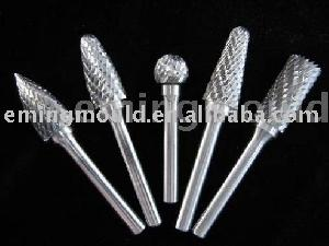 carbide burrs metal cutting shape