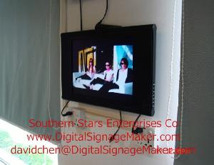 15 lcd display promotional electronic ad