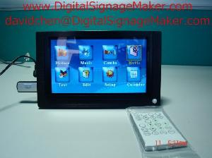 lcd promotional digital signage monitor