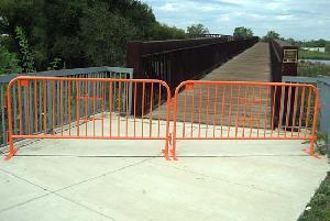 temporary barricade traffic canada usa france uk uae