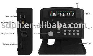 burglar alarm control panel