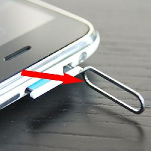 iphone 3g sim holder dock removal tool