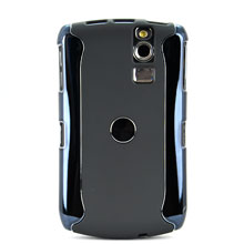 Spare Parts Of Detachable Plastic Case With Titanium-plated For Blackberry Curve 8300 8310 8320